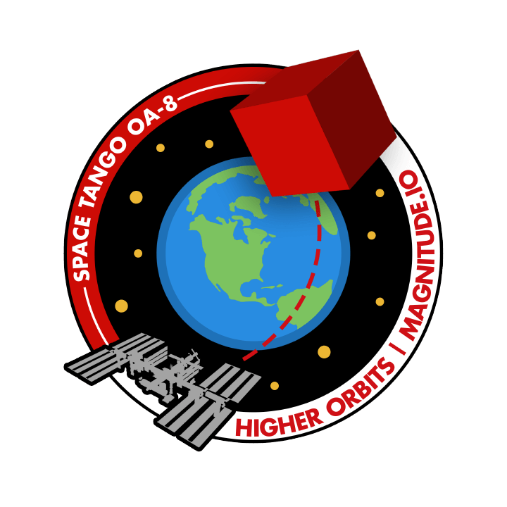 Mission badge/patch for OA-8