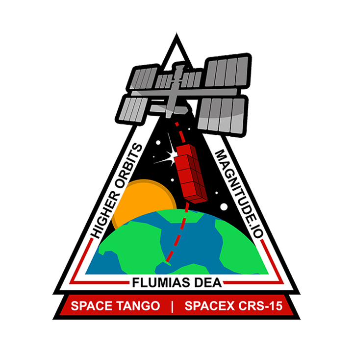 Mission badge for CRS-15