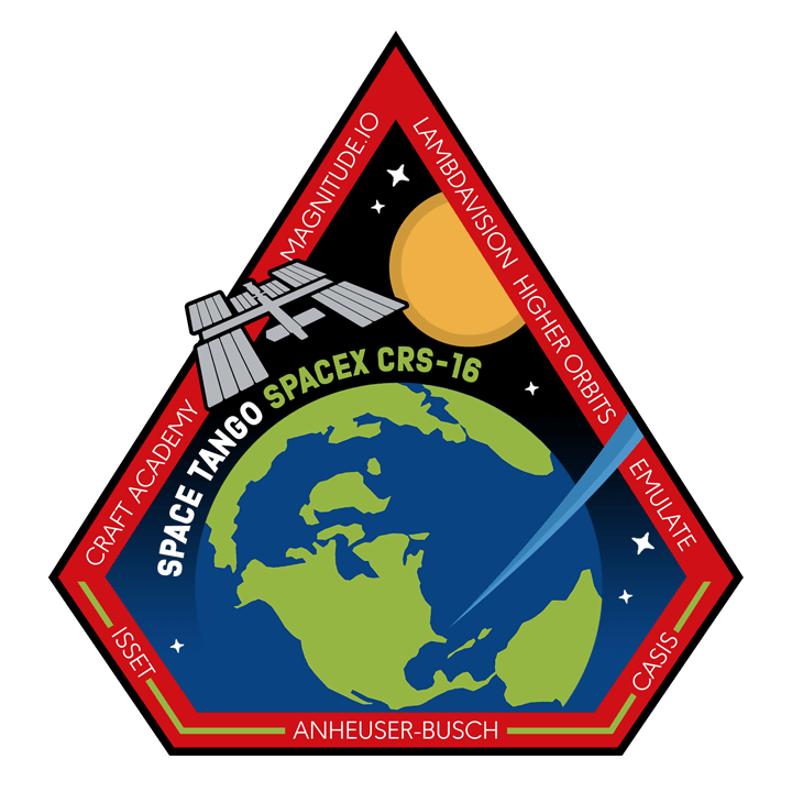 Mission badge/patch for CRS-16