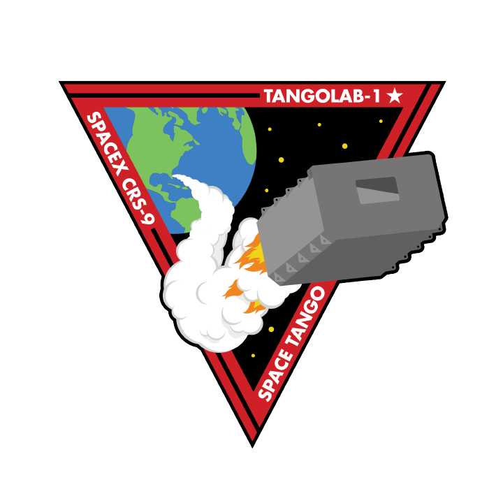 Mission badge/patch for CRS-9