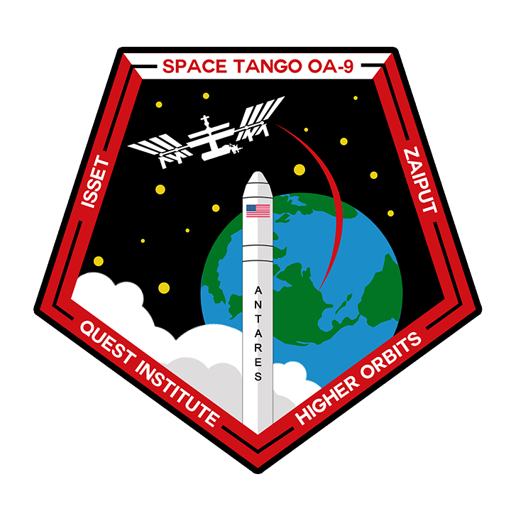 Mission badge/patch for OA-9