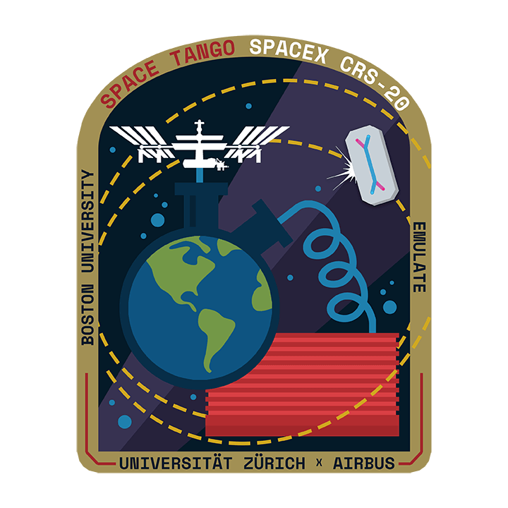 Mission badge/patch for CRS-20