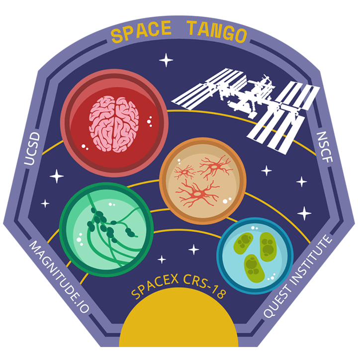 Mission badge/patch for CRS-18