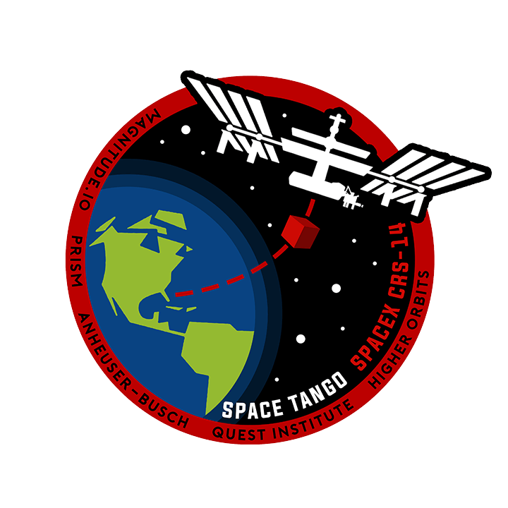 Mission badge/patch for CRS-14